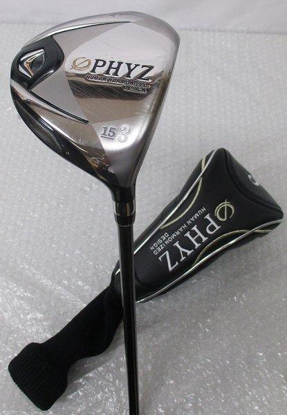 ブリジストン PHYZファイズ 2011年モデル 3W/15°R
